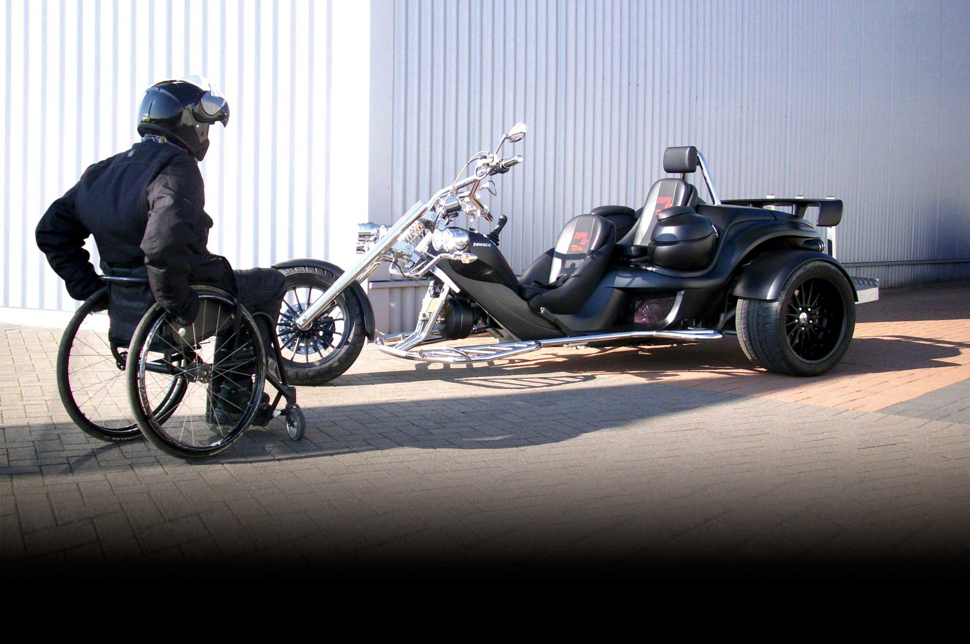 Handicap Umbau Rewaco Trikes